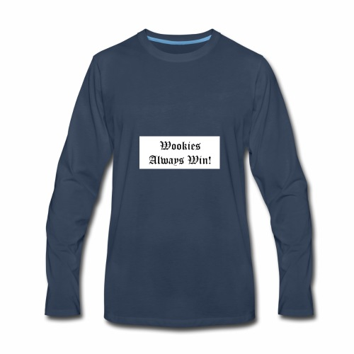 Wookie - Men's Premium Long Sleeve T-Shirt