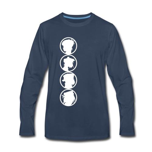 sillhouet - Men's Premium Long Sleeve T-Shirt