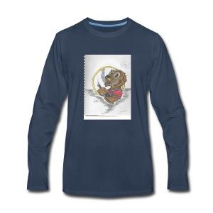 toker the gopher - Men's Premium Long Sleeve T-Shirt