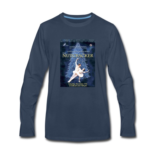 CBC Nutcracker Product - Men's Premium Long Sleeve T-Shirt
