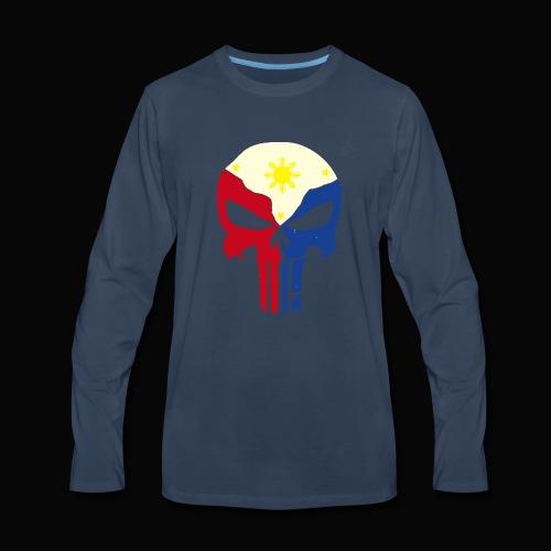 punisher ph 2 - Men's Premium Long Sleeve T-Shirt