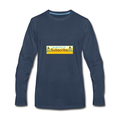 GAMES FOR LIFE - Men's Premium Long Sleeve T-Shirt