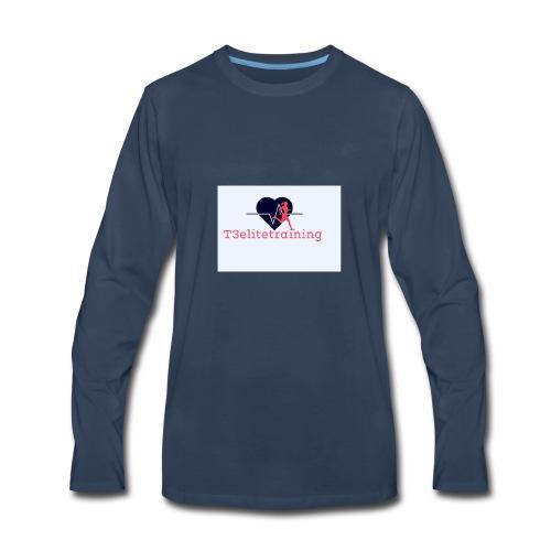 T3EliteTraining - Men's Premium Long Sleeve T-Shirt