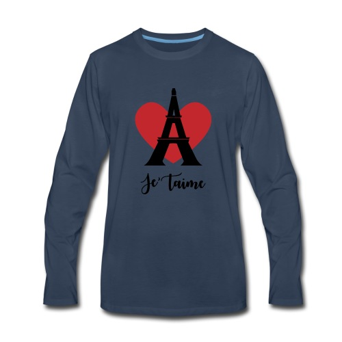 Je'taime Paris - Men's Premium Long Sleeve T-Shirt