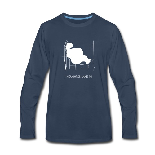 Houghton Lake, MI - Men's Premium Long Sleeve T-Shirt