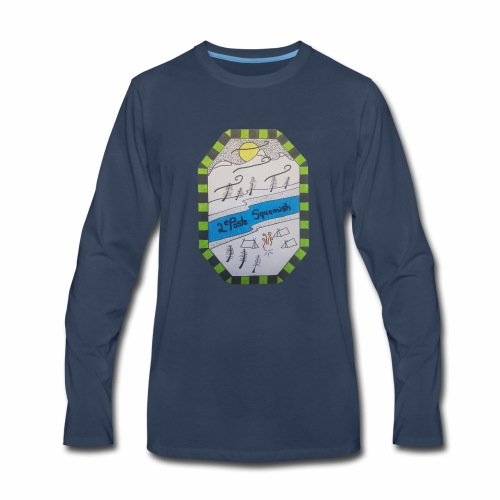 2nd position Squamish Hull - Men's Premium Long Sleeve T-Shirt