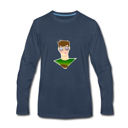 RG GAMER MERCH V.1 - Men's Premium Long Sleeve T-Shirt