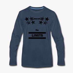 Racer black - Men's Premium Long Sleeve T-Shirt