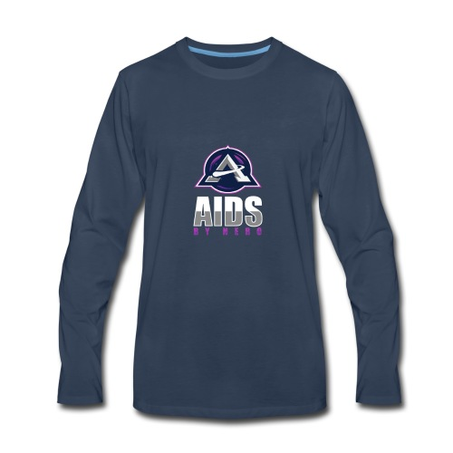 AIDS (Ambien Parody) - Men's Premium Long Sleeve T-Shirt