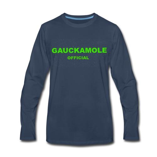 OFFICIAL GAUCKAMOLE - Men's Premium Long Sleeve T-Shirt