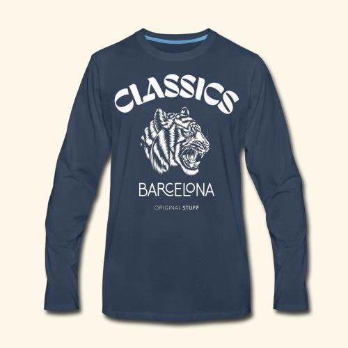 tiger classic barcelona original stuff - Men's Premium Long Sleeve T-Shirt