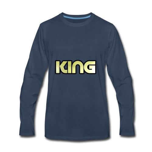 KING ***NEW DESIGN*** - Men's Premium Long Sleeve T-Shirt