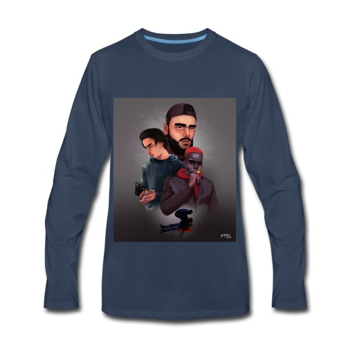 Pnl naha baby onizuka - Men's Premium Long Sleeve T-Shirt