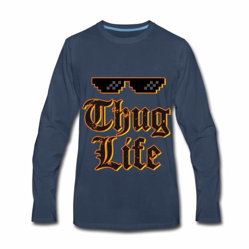 Thug life t-shirt - Men's Premium Long Sleeve T-Shirt