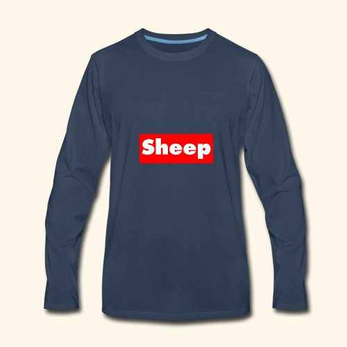 sheep hoodie - Men's Premium Long Sleeve T-Shirt