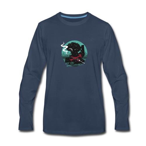 Cowboy Bebop logo - Men's Premium Long Sleeve T-Shirt