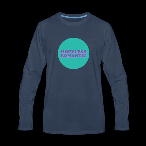 Hopeless Romantic - Men's Premium Long Sleeve T-Shirt