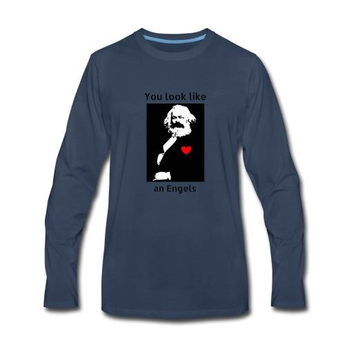 Marx_love_Shirt - Men's Premium Long Sleeve T-Shirt