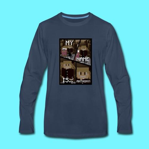iDMC Comic Strip - Men's Premium Long Sleeve T-Shirt