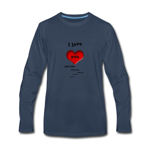 Valentin Love - Men's Premium Long Sleeve T-Shirt