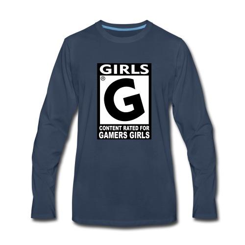 dise o franelas girls - Men's Premium Long Sleeve T-Shirt