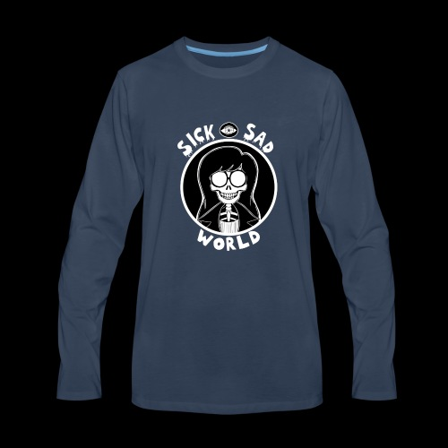 HEXX Daria sick - Men's Premium Long Sleeve T-Shirt