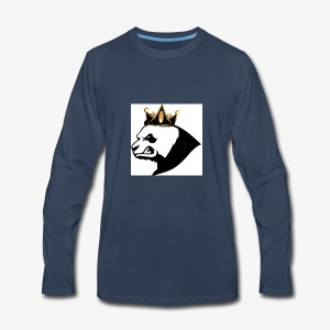 Panda squad hoodie - Men's Premium Long Sleeve T-Shirt