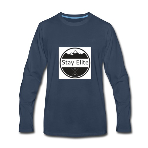 Stay Elite Shirt - Men's Premium Long Sleeve T-Shirt