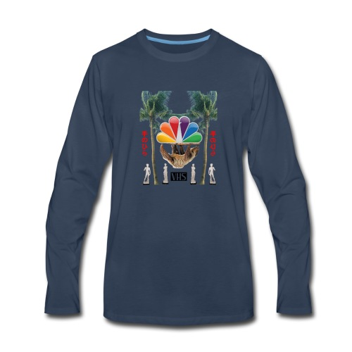 空のデータ - Men's Premium Long Sleeve T-Shirt