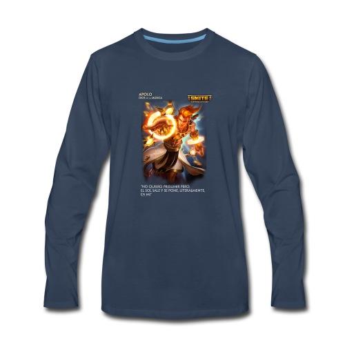 Smite Cloth - Apolo - Men's Premium Long Sleeve T-Shirt