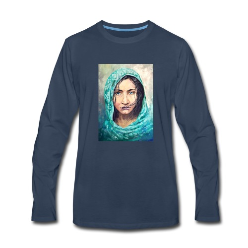 portrait - Men's Premium Long Sleeve T-Shirt