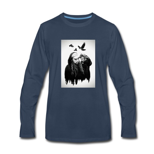 suicide shirt - Men's Premium Long Sleeve T-Shirt