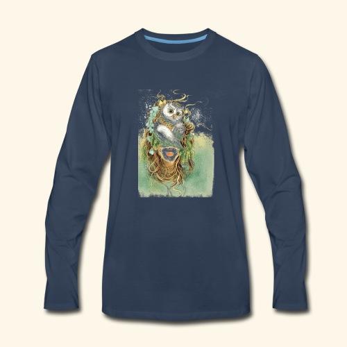 La maison Rose Alma 01 - Men's Premium Long Sleeve T-Shirt
