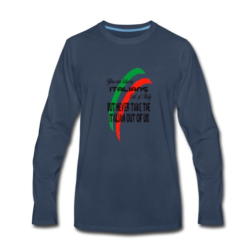 Italian top - Men's Premium Long Sleeve T-Shirt