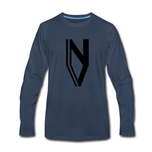 NVM LOGO - Men's Premium Long Sleeve T-Shirt