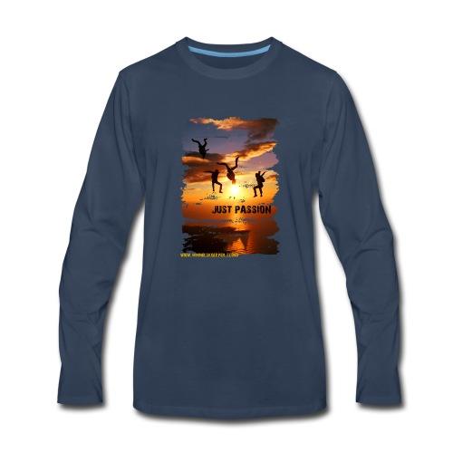JUST PASSION - Men's Premium Long Sleeve T-Shirt