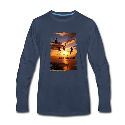 JUST PASSION - Men's Premium Long Sleeve T-Shirt