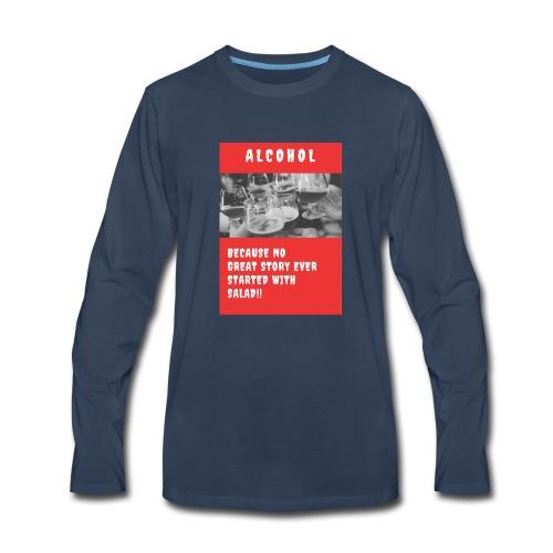 ALCOHOL STORY - Men's Premium Long Sleeve T-Shirt