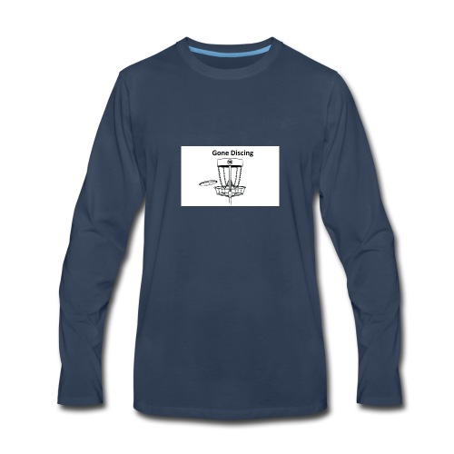gone_discing - Men's Premium Long Sleeve T-Shirt