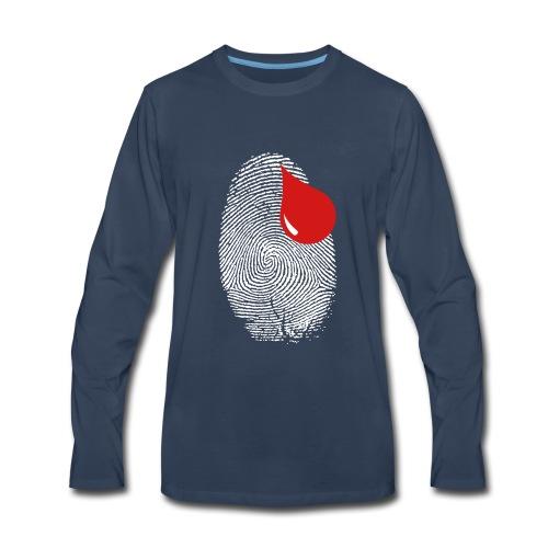 Finger Print - Men's Premium Long Sleeve T-Shirt