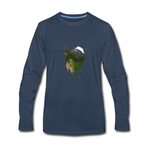 North America - Men's Premium Long Sleeve T-Shirt