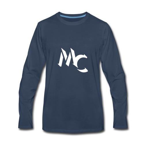 MC LOGO - Men's Premium Long Sleeve T-Shirt