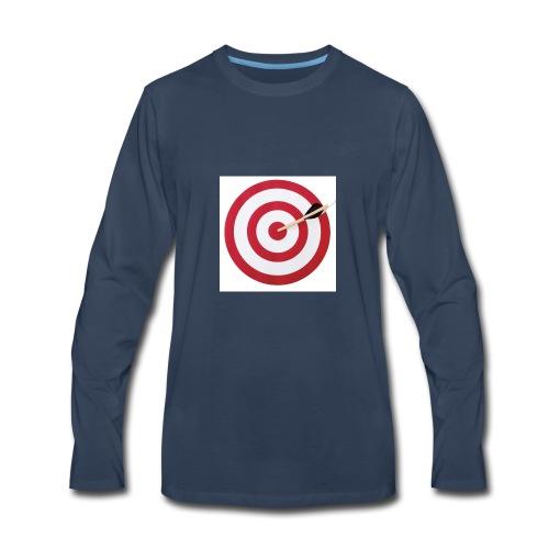bulls eye - Men's Premium Long Sleeve T-Shirt