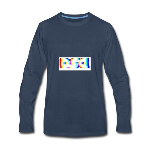Deathstreakgaming logo - Men's Premium Long Sleeve T-Shirt
