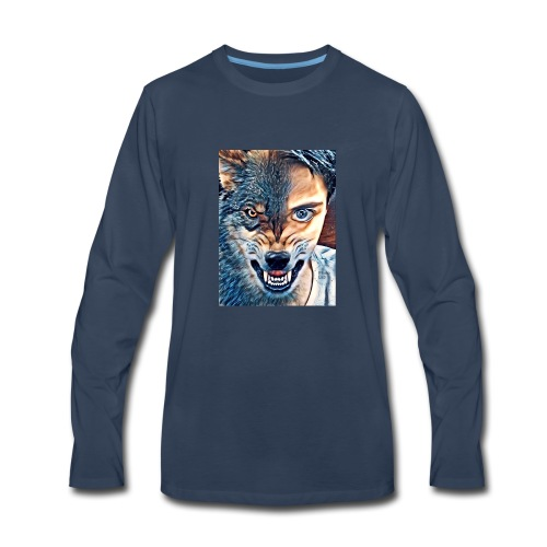 Cameron The Wolf Merch - Men's Premium Long Sleeve T-Shirt