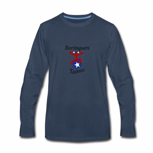 tainos from borinquen - Men's Premium Long Sleeve T-Shirt
