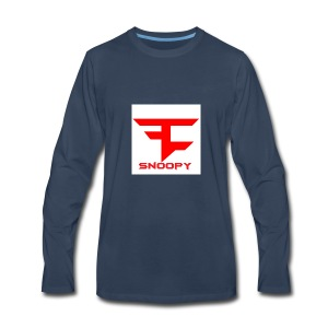 FaZe Snoopy phone cases and shirts - Men's Premium Long Sleeve T-Shirt