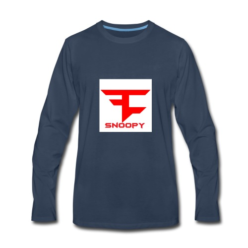 FaZe Snoopy phone cases and shirts - Men's Premium Long Sleeve T-Shirt