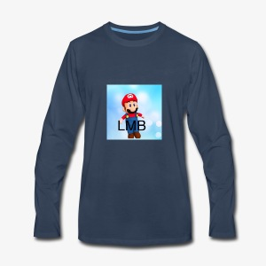 LMB Logo - Men's Premium Long Sleeve T-Shirt