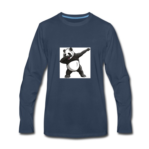 Dabbing panda - Men's Premium Long Sleeve T-Shirt